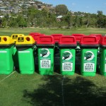 Event waste management - rubbish bins