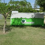 Event waste management - bulk skip rubbish and recycle bins